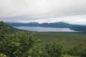 支笏湖(樽前山より)