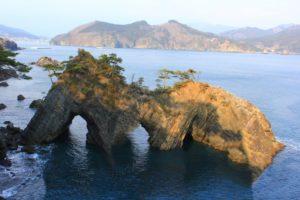 碁石海岸(大船渡市)