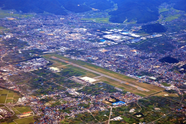 山形空港(東根市)