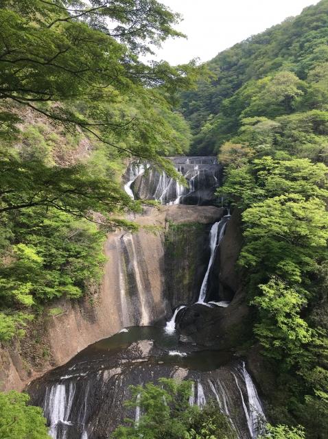 日本三名瀑「袋田の滝」(久慈川支流)