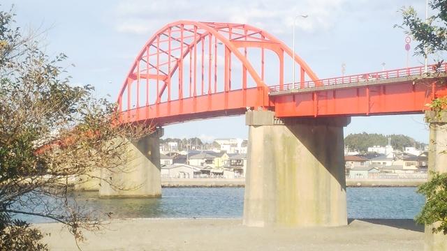 海門橋(那珂川河口・ひたちなか市)