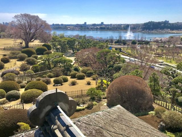 日本三大庭園「偕楽園」(水戸市)