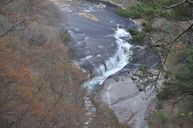 東洋のナイアガラ(の1つ)「吹割の滝」 片品川