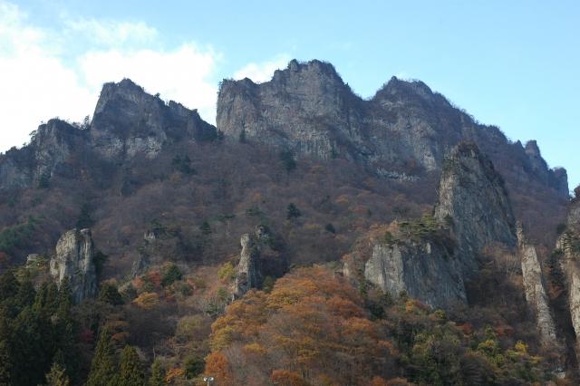 日本三大奇景「妙義山」