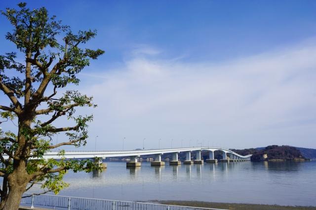 能登島大橋(能登島南部)