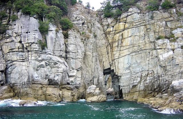 蘇洞門(内外海半島北側)