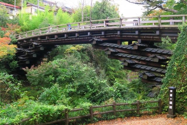 猿橋(大月市 桂川)