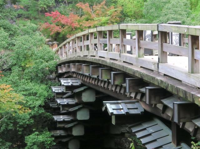 日本三大奇矯「猿橋」(大月市)