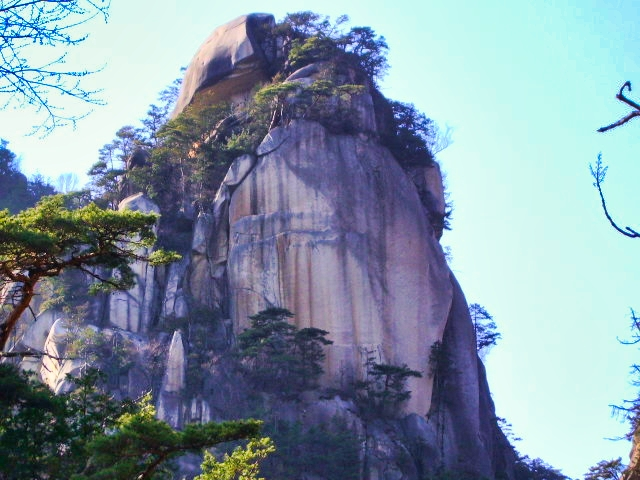御岳昇仙峡の「覚円峰」