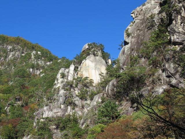 昇仙峡(荒川流域 甲府市)