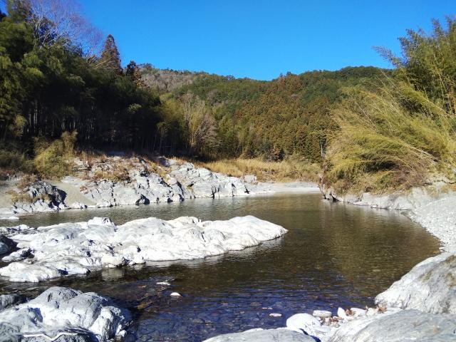香肌渓(櫛田川)