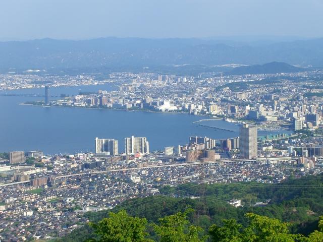 琵琶湖(比叡山より)