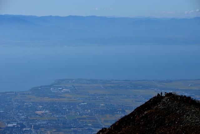 琵琶湖(伊吹山より)