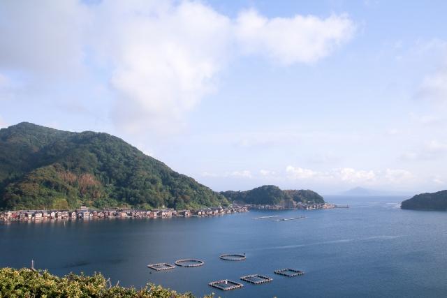 伊根の舟屋(伊根湾)