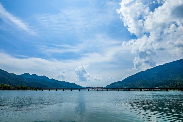 由良川鉄橋(由良川河口付近)