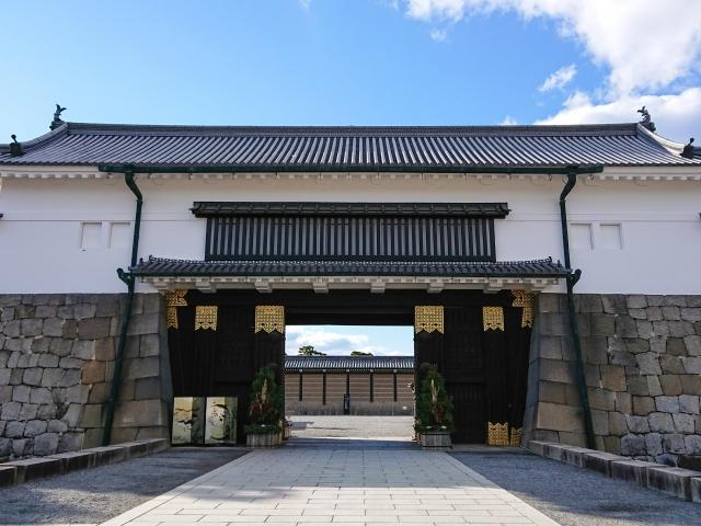 二条城東大手門(京都市)