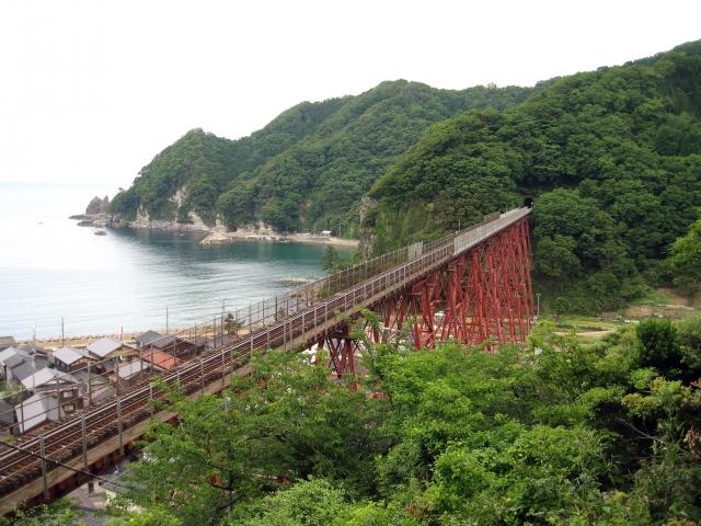 旧余部鉄橋