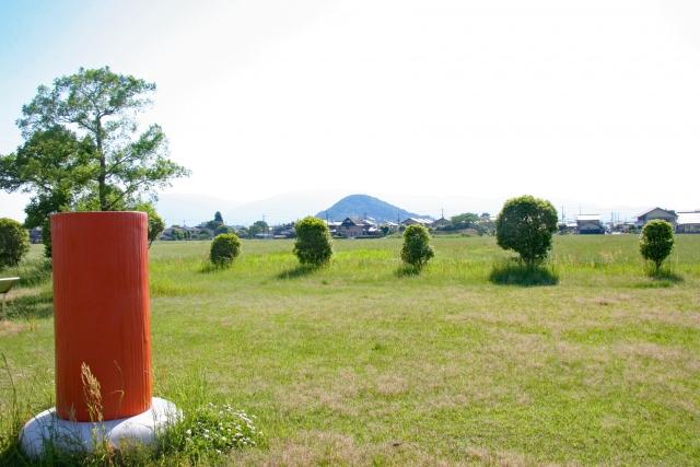 藤原宮跡と畝傍山