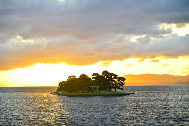 宍道湖東部 嫁ヶ島