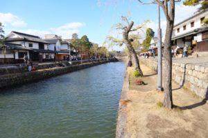 倉敷市内の風景