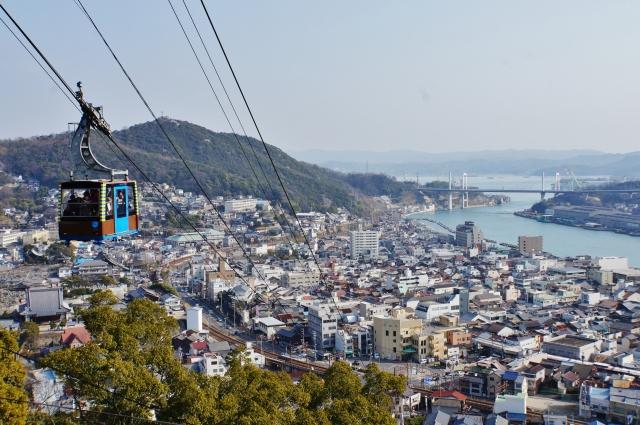 千光寺山ロープウェイ(尾道市)
