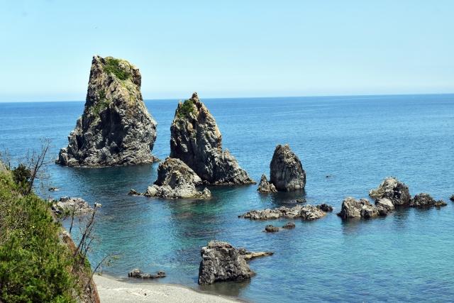 青海島の海上アルプス