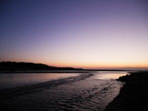 海部川河口