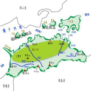 香川県の地理・地形・地図