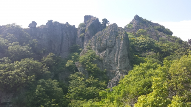 日本三大奇景「寒霞渓」 小豆島
