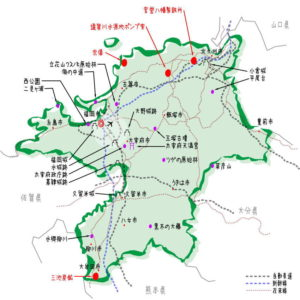 福岡県の観光地・名所一覧・地図