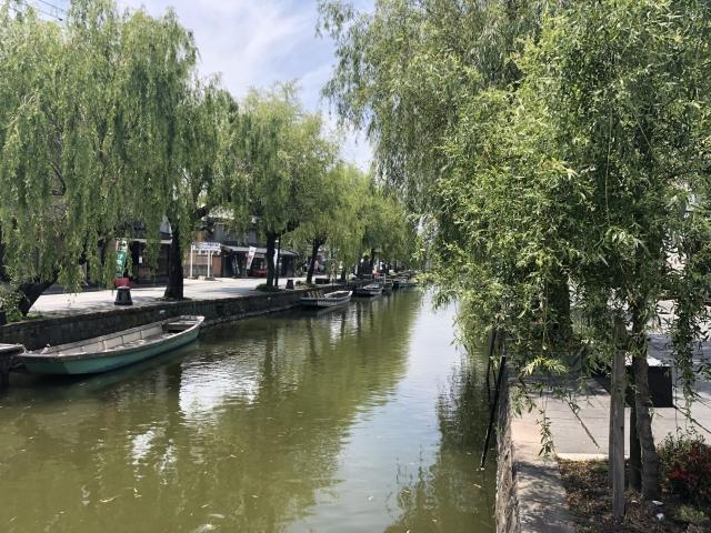 柳川市の水路
