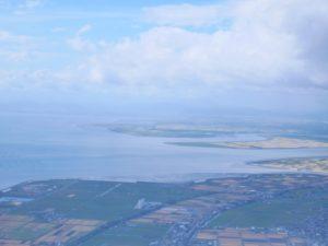 有明海と佐賀平野