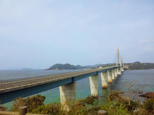鷹島肥前大橋 長崎県の鷹島に佐賀県からかかる橋