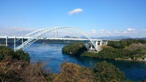 新西海橋(西彼杵半島北西部―針尾島)