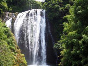 日本の滝百選「龍門滝」(姶良市)